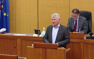 Branko Hrg  highlighted Youth Sports Games in his speech in the Croatian Parliament
