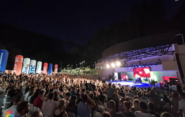Spectacle in Sokobanja, Games officially opened