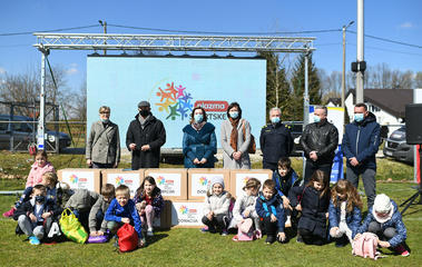 Youth Sports Games donated HRK 50,000 to the SOS Children's Village Lekenik