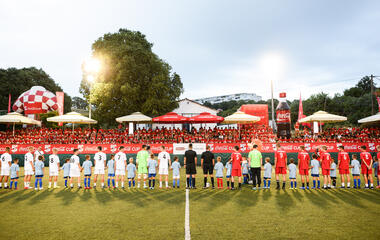 Coca- Cola Cup state finals: A football spectacle in Split