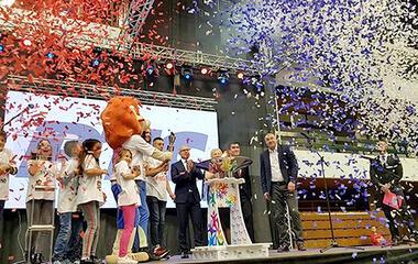 Children's sports magic wins